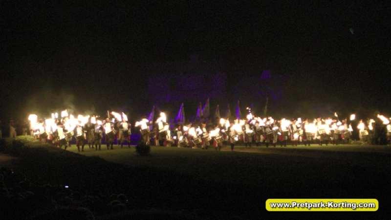 La Cinéscénie live show Puy du Fou Frankrijk - De Tweede Wereld oorlog