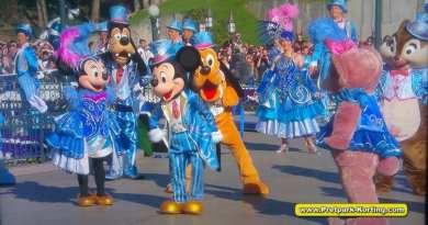 Disneyland Parijs 25 jarig bestaat speciale openingsshow 12-04-2017