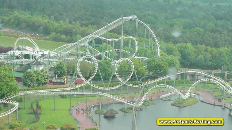 HeidePark Big Loop achtbaan - Python lookalike