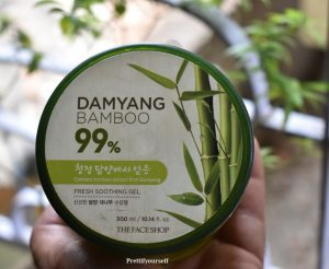The Face Shop Bamboo Gel Review | PrettifyOurself