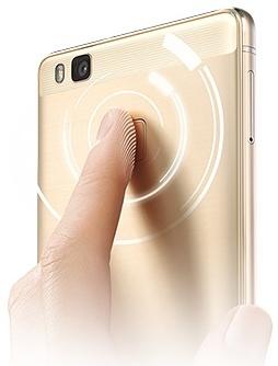 p9liteの指紋認証センサー