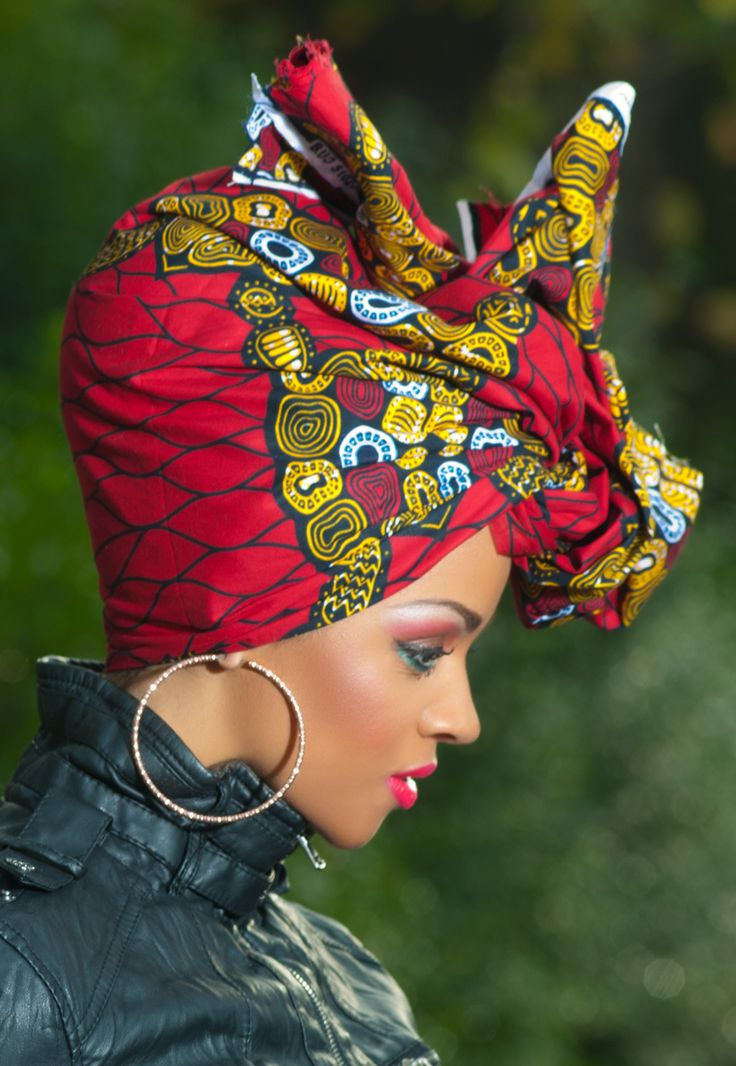 Modern African Hairstyles 2015 Head Wraps Hairstyles