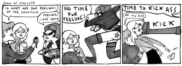 Strong Female Characters by Kate Beaton