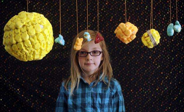 Eleanor Clements and Her Peep Solar System