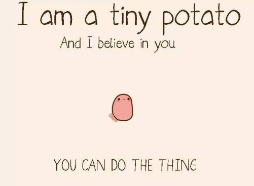 Tiny Potato Believes!