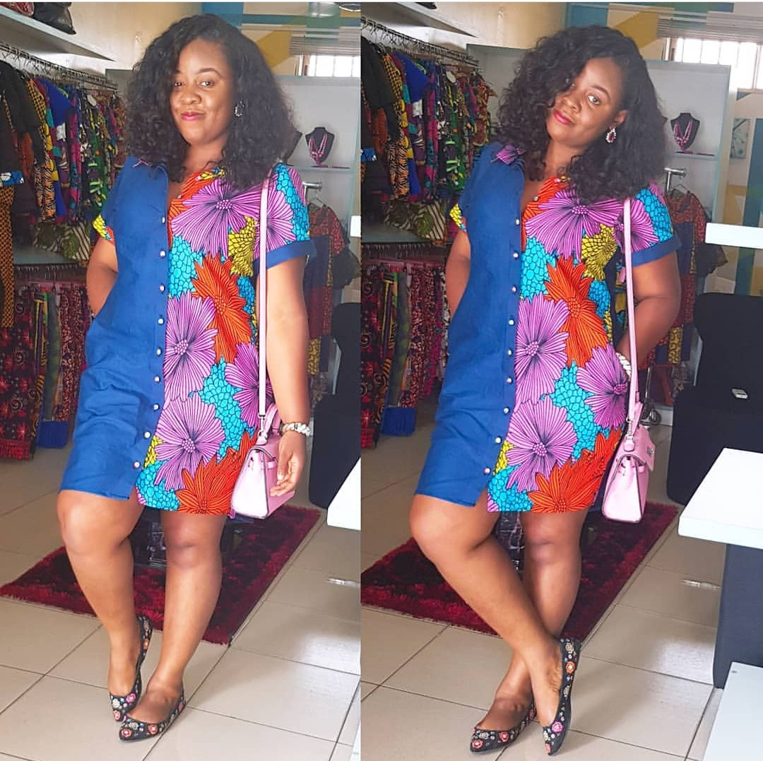 ANKARA SHIRTS DRESS 2019/2020