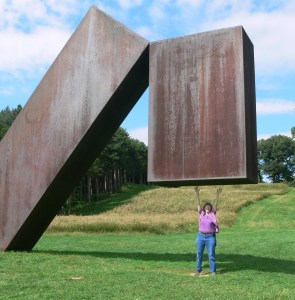 Jackie Craven Does Heavy Lifting at Storm King in Mountainville, NY