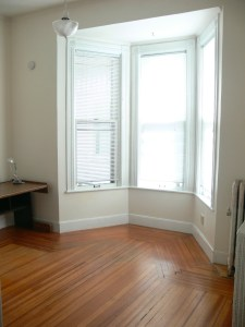 Bedroom with bay window, Schenectady NY