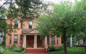 Brick House With Trees in Schenectady NY