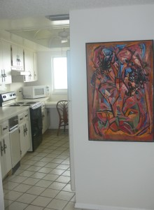 Paintings in Cocoa Beach Condo