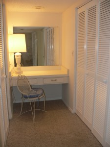 Dressing Room in Cocoa Beach Condo