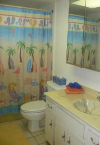 Master Bathroom in Cocoa Beach Condo
