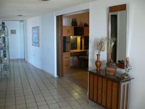 Entry Hallway to Ocean View Condo