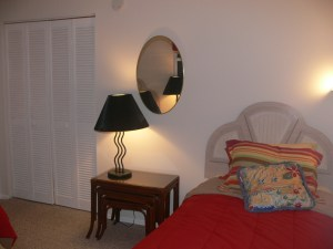 Cheerful Bedroom in Cocoa Beach Florida