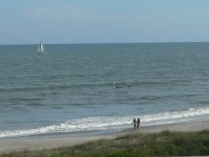 A peaceful beach...