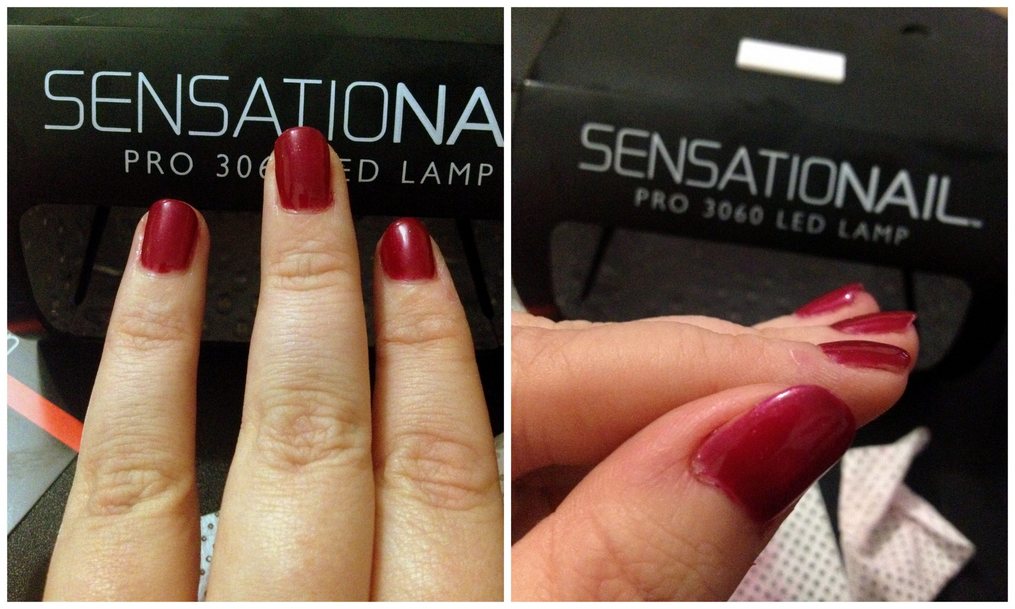 sensationail gel polish instructions