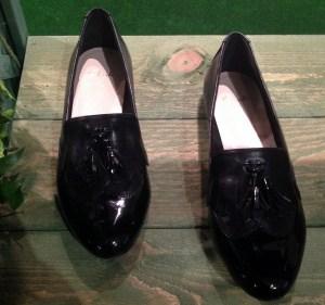 Clarks Black Smart Shoes