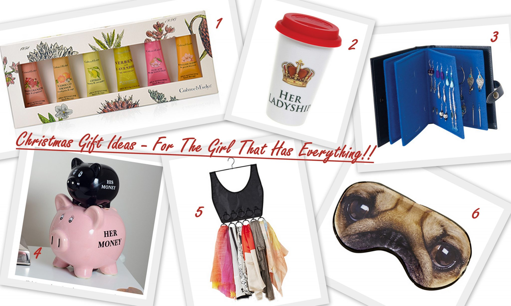 Christmas Gift Ideas For The Girl That Has Everything
