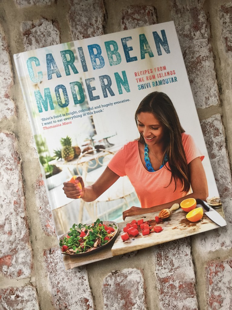 Caribbean Modern with recipes from the rum Islands written by Shivi Ramoutar