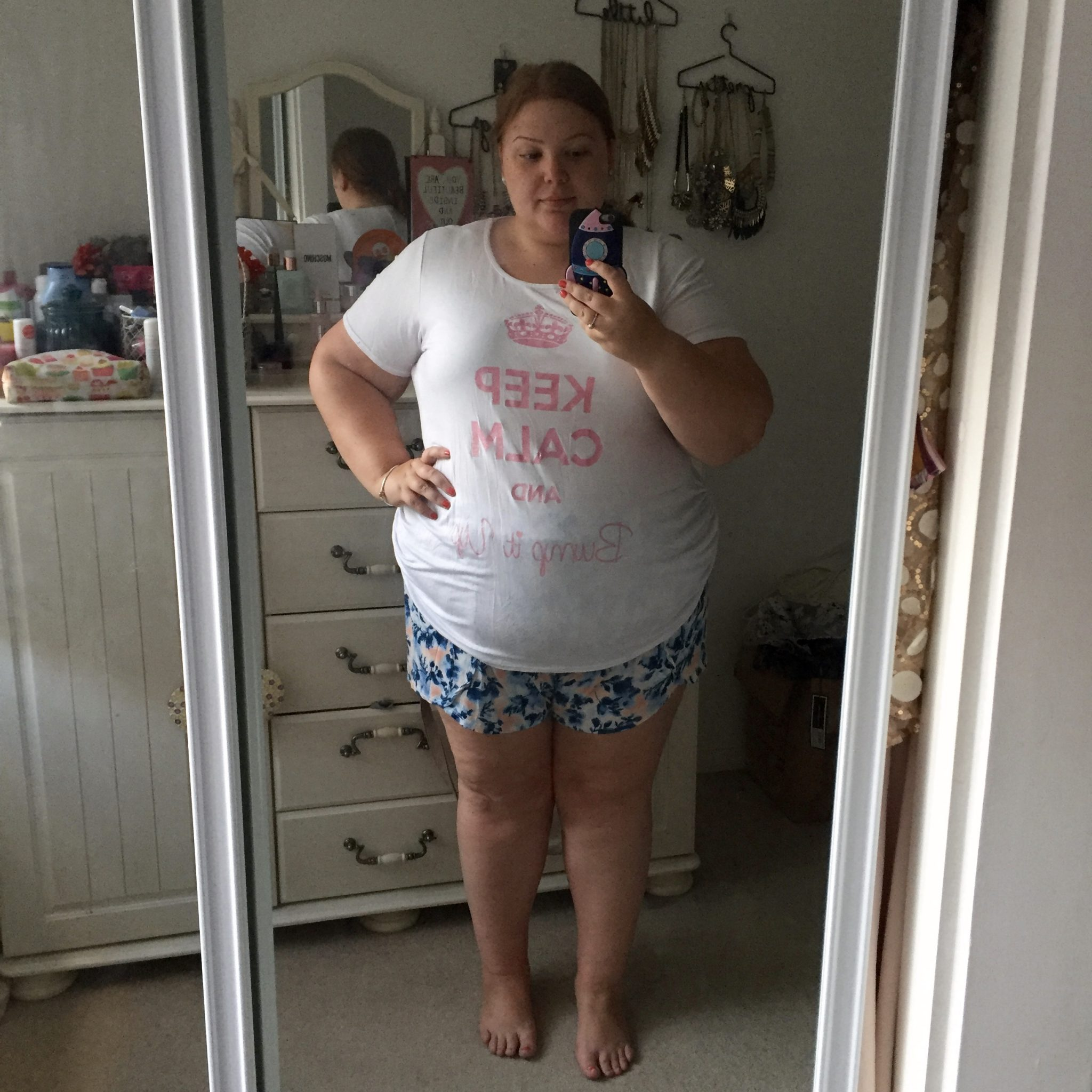 Plus Size And Pregnant Announcement 16 Weeks Update