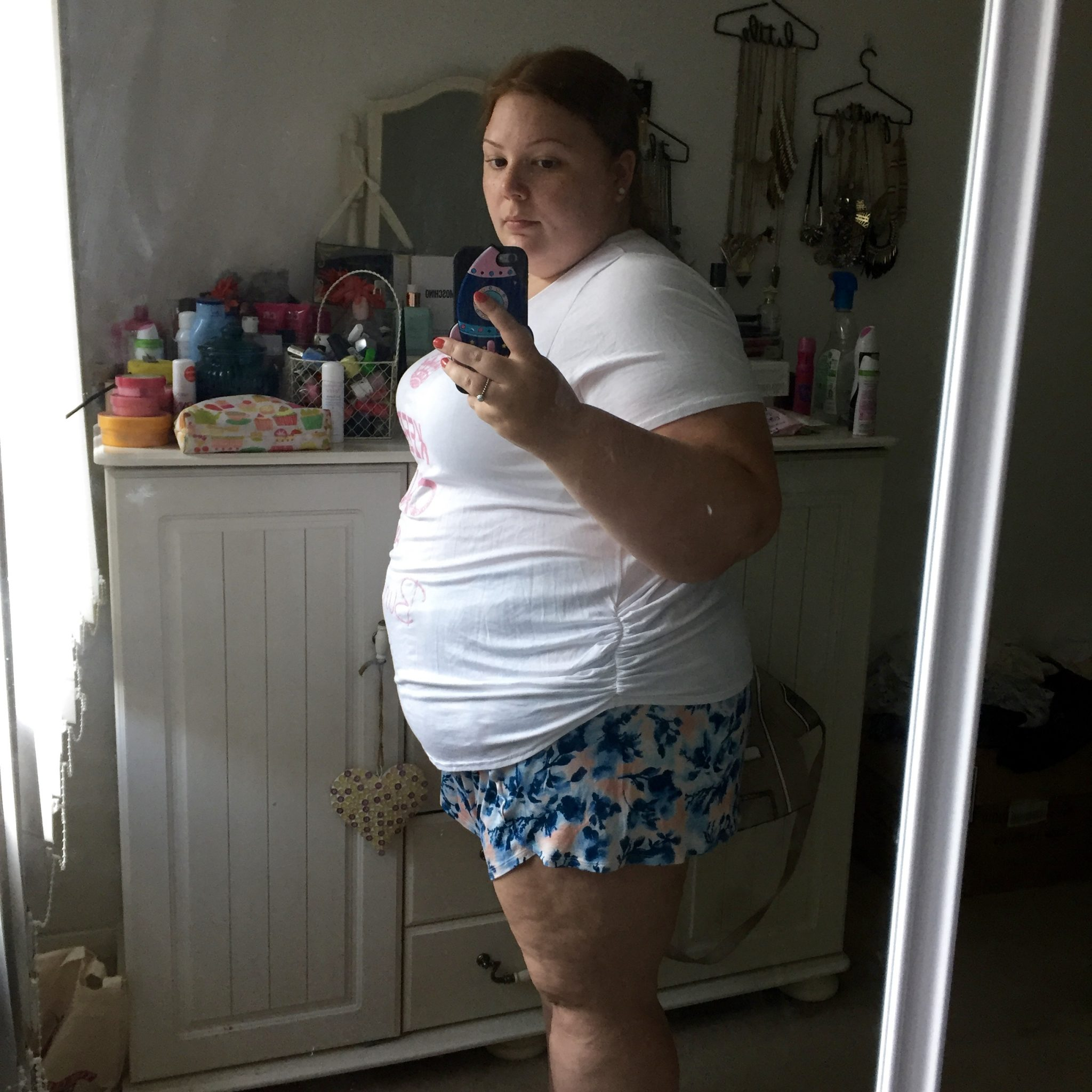 plus size and pregnant - announcement & 16 weeks update