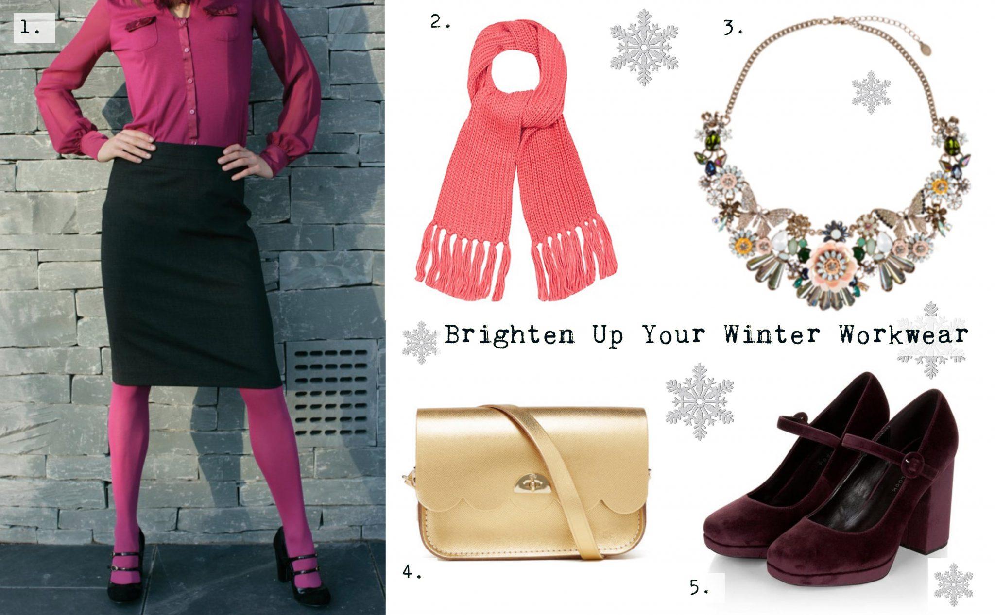 Brighten up Your Workwear