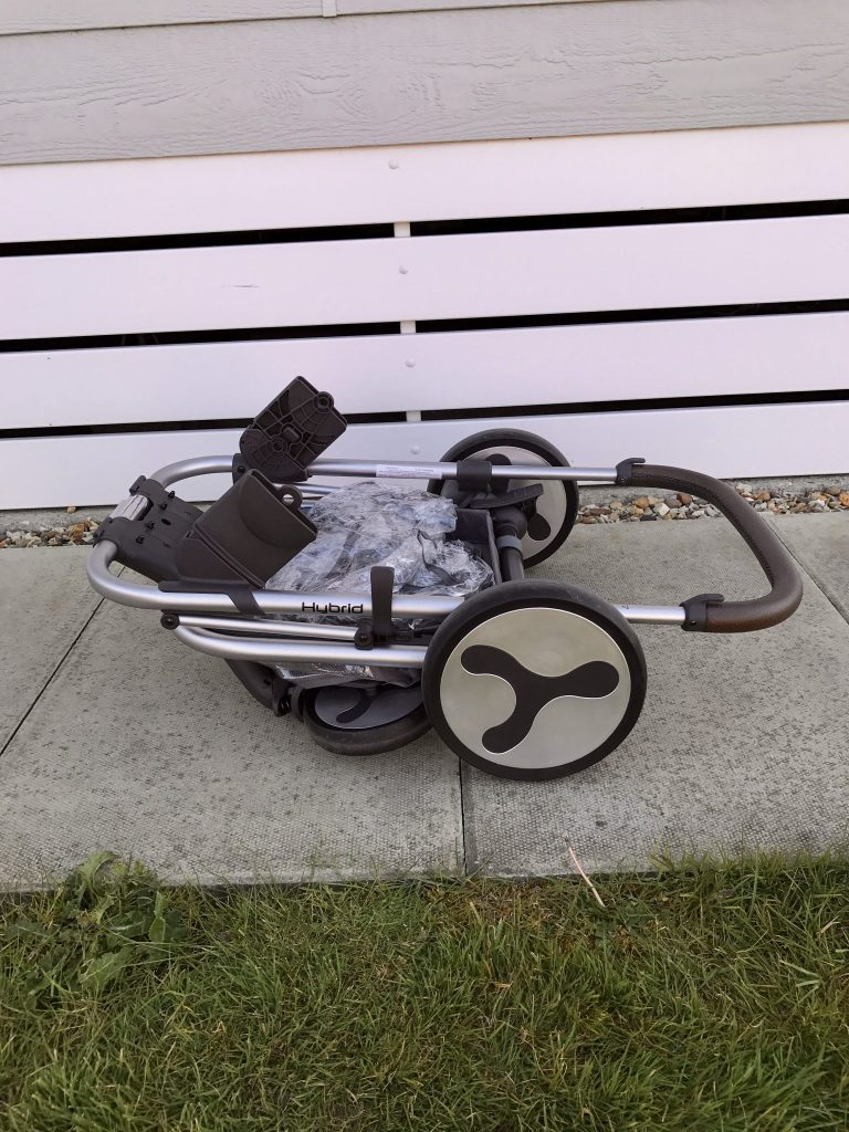 HYBRID STROLLER BY BABYSTYLE  - putting it up and down - review