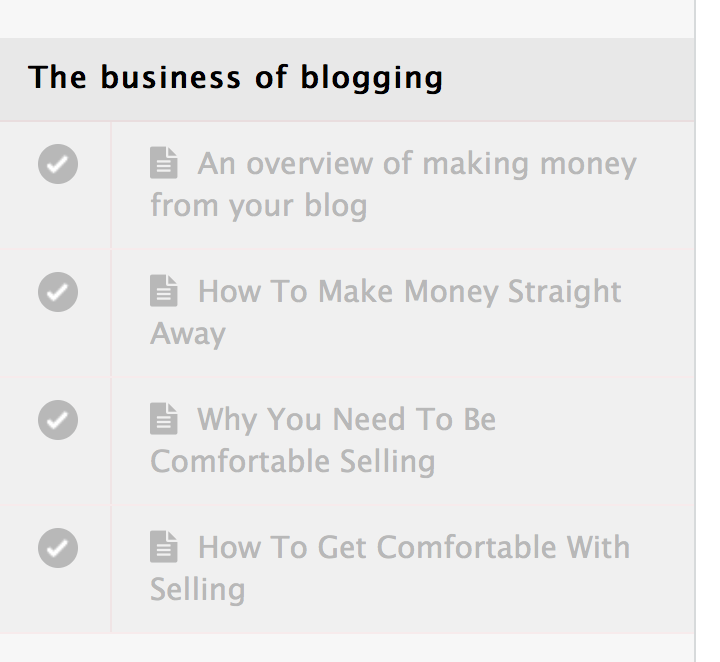 The business of blogging - pretty big butterflies