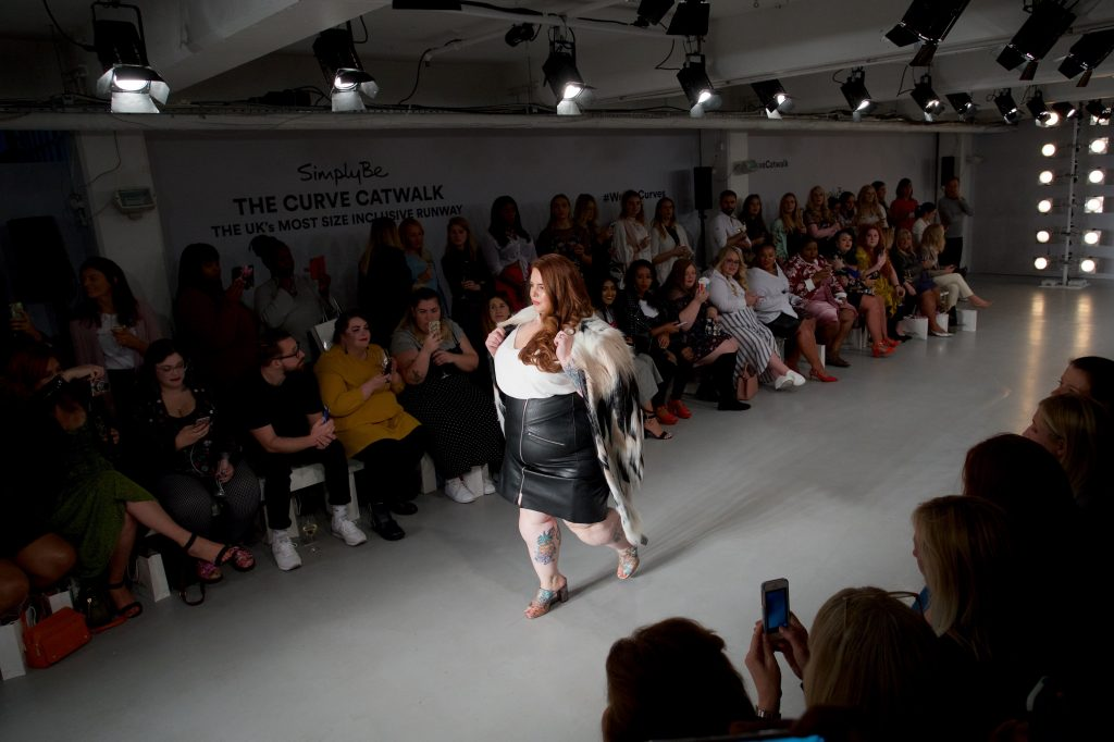 Tess Holliday - The Curve Catwalk - Simply Be - Pretty Big Butterflies