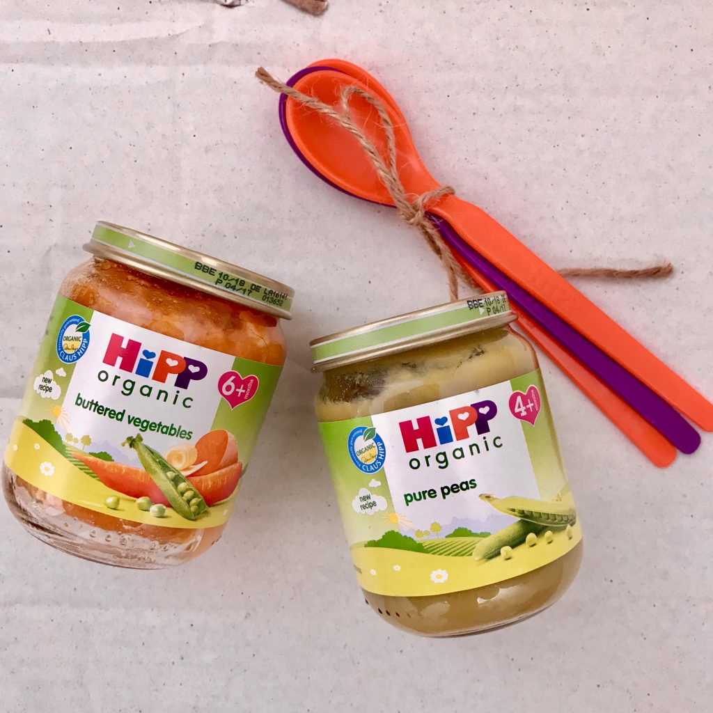 HiPP Organic baby food jars review - stage one weaning