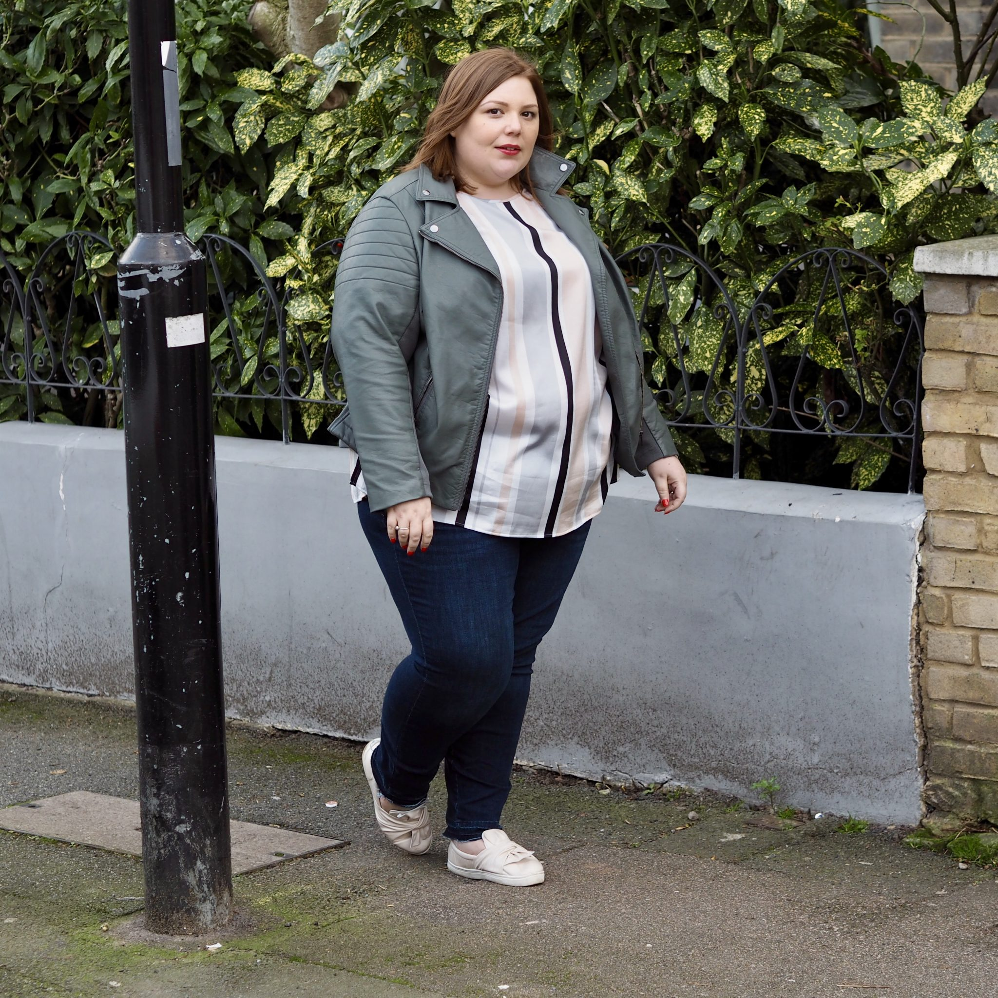 M&S plus size clothing - pretty big butterflies