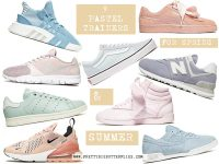 9 PASTEL TRAINERS FOR SPRING AND SUMMER