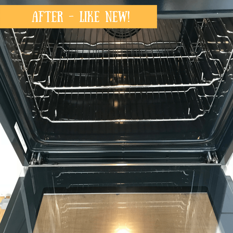 AFTER - MY FANTASTIC SERVICES OVEN CLEAN - REVIEW