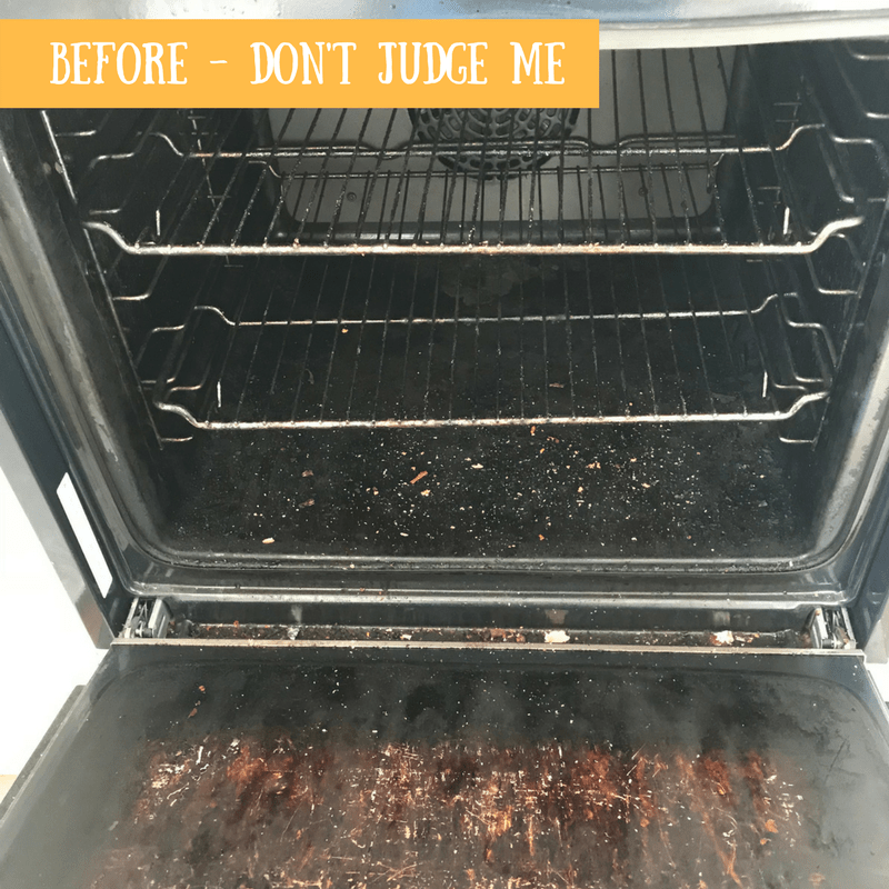 BEFORE - MY FANTASTIC SERVICES OVEN CLEAN - REVIEW