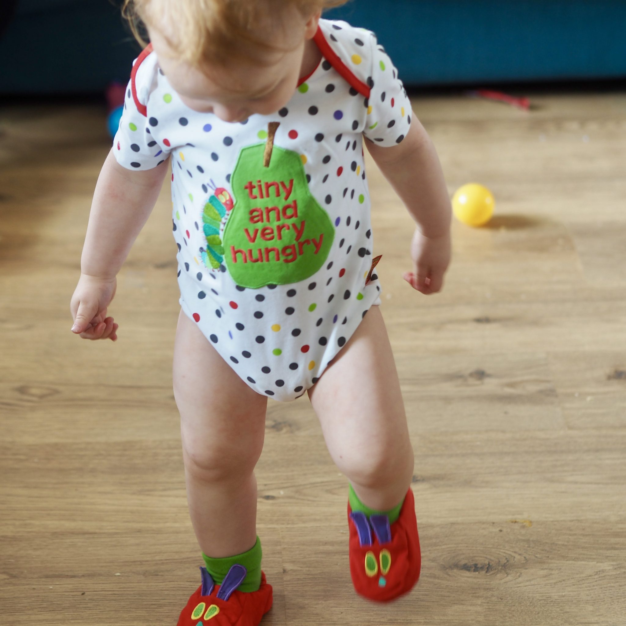 The Very Hungry Caterpillar BabyWear Range - pretty Big Butterflies