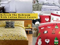 Refresh The Bedroom With Cotton Duvet Covers