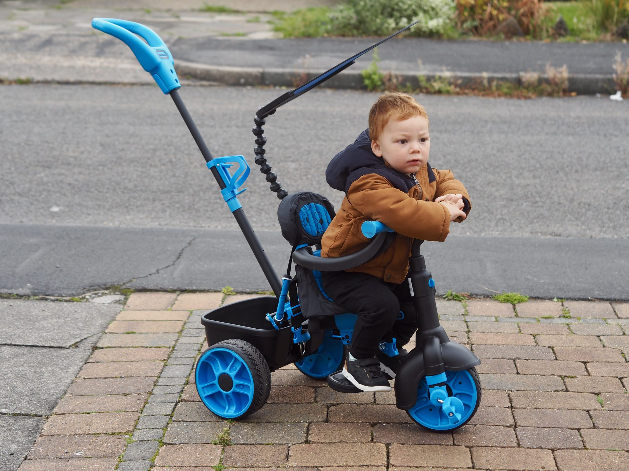 Toddlers trike review - pretty big butterflies