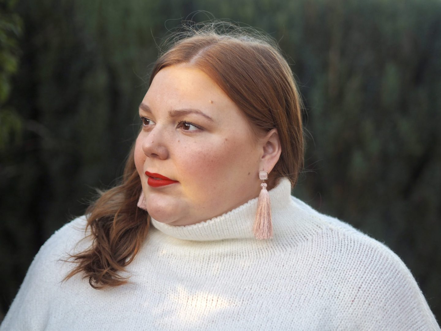 plus size blogger and influencer - pretty big butterflies