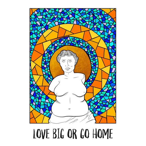 love big or go home
