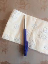 leg de pen op het wc-papier