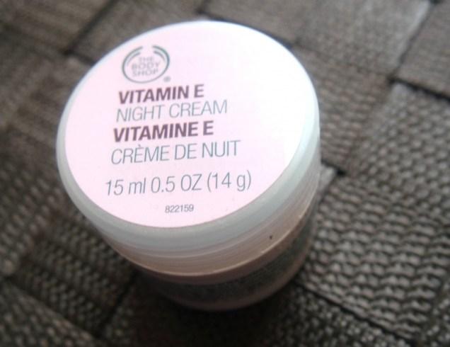 The Bodyshop Vitamine E nachtcrème