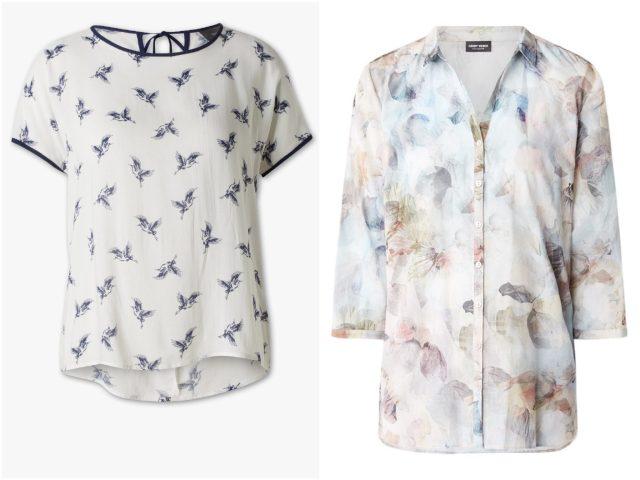 De leukste zomerse blouses voor op het werk