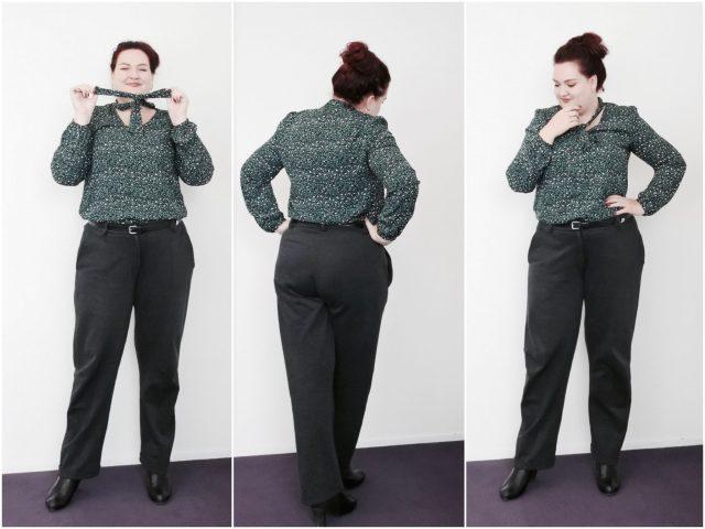 1 grijze pantalon op 4 manieren gedragen