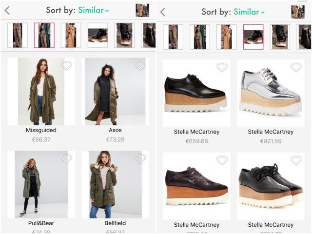 Screenshop: je (werk)kleding vinden door een screenshot