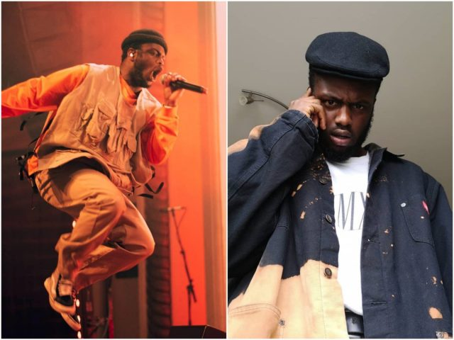 Rapper DVTCH NORRIS treedt graag op in traditionele werkkleding