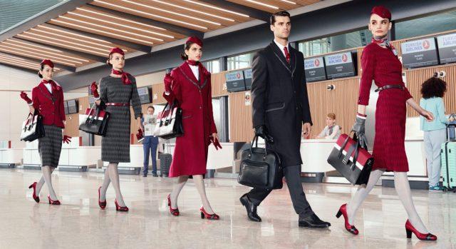 Nieuwe bedrijfskleding Turkish Airlines