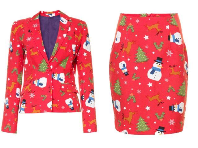 De leukste kerstpakken én mantelpakjes voor op het werk
