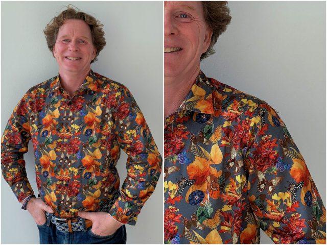 ''Mensen worden blij van de overhemden die ik draag''