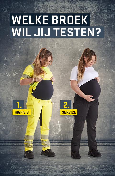Zwangere vrouwen gezocht om werkbroeken te testen
