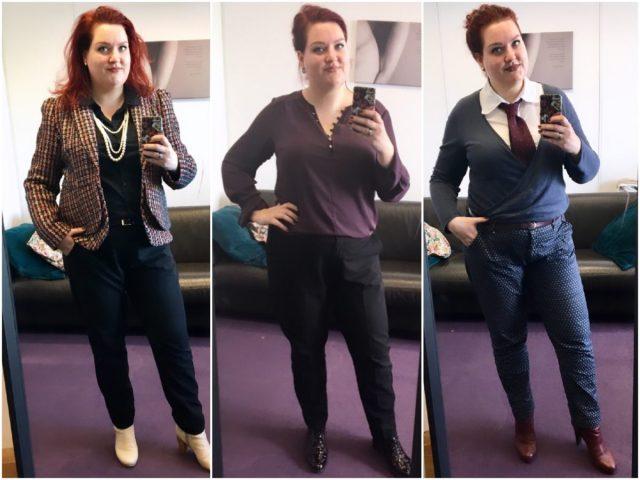 Dit droeg ik in april op kantoor